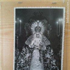 Fotografía antigua: ESPERANZA MACARENA,SERRANO FOTO SEVILLA-MEDIDAS 9X14 APROXIMADAMENTE. Lote 96708667