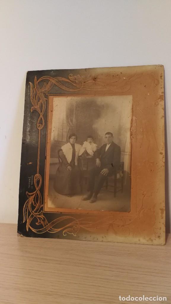 Bonito Antiguo Marco De Fotos Antiguo Familienbild Arte Y Antigüedades
