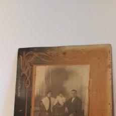 Fotografía antigua: FOTOGRAFIA DE FAMILIA , PRINCIPIOS DE SIGLO . Lote 97041935