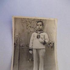Fotografía antigua: ANTIGUA FOTO DE PRIMERA COMUNION. TDKP12. Lote 98584639