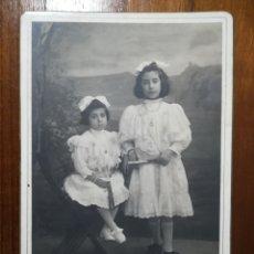 Fotografía antigua: FOTOGRAFIA CABINET AMIS UNAL GIRONA. Lote 99459819
