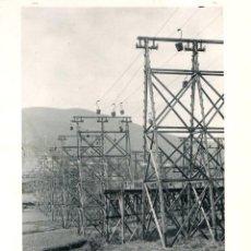 Fotografía antigua: FOTOTIPIA BILBAO. TRANSPORTE DE MINERAL EN ARCOCHA. HAUSER Y MENET. Nº 382. AÑO 1895. Lote 100041939