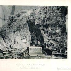 Fotografía antigua: FOTOTIPIA BILBAO. MARQUINA (VIZCAYA). Nº 521. AÑO 1895. Lote 100047339
