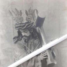 Fotografía antigua: ANTIGUA FOTOGRAFIA DE NUESTRO PADRE JESUS NAZARENO DE OSUNA SEVILLA. Lote 100183355