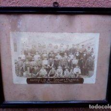 Fotografía antigua: FOTOGRAFÍA 1886.TENERIA DE MIQUEL FARGAS Y VILASECA.SAN MARTÍN DE PROVENSALS. Lote 101243043