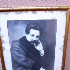 Fotografía antigua: FOTOGRAFÍA DE ENRIQUE GRANADOS.REYES 64.. Lote 101656035