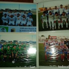 Fotografía antigua: ALBUM FOTOS FUTBOL EXTREMEÑO 3 DIVISION 2008- 2009- COMPLETO. Lote 101657279