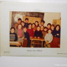 Fotografía antigua: FOTOGRAFIA RECUERDO DE MI COLEGIO. CHANTREA PAMPLONA. TDKP2. Lote 101929175