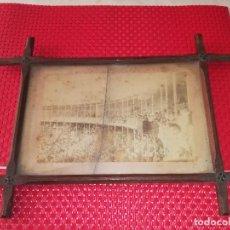 Fotografía antigua: PLAZA DE TOROS DE ALICANTE - FOTOGRAFIA ORIGINAL - INAUGURACION - AÑO 1888. Lote 101931139