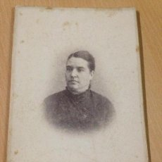 Fotografía antigua: ANTIGUA FOTOGRAFIA ALBUMINA JOSE CARRILLO CARTAGENA MURCIA. Lote 104083491