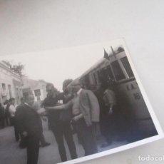 Fotografía antigua: ANTIGUA (S/F)FOTOGRAFÍA DE ESTACIÓN DE TREN-12.5X1.5CM.-(. Lote 105026155