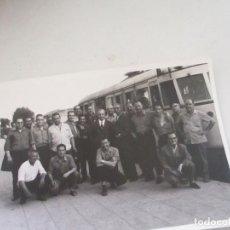 Fotografía antigua: ANTIGUA (S/F)FOTOGRAFÍA DE ESTACIÓN DE TREN-12.5X1.5CM.. Lote 105026199