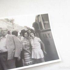 Fotografía antigua: ANTIGUA (S/F)FOTOGRAFÍA DE ESTACIÓN DE TREN-12.5X1.5CM.. Lote 105026299