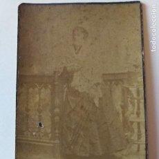 Fotografía antigua: ANTONIO GARCÍA. FOTÓGRAFO. ANTIGUA FOTOGRAFÍA. MUJER. FOTO. A.GARCIA.. Lote 106630727