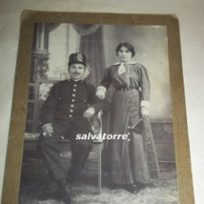 Fotografía antigua: FOTOGRAFIA ANTIGUA SICILIA HERMANOS. SANTA CRUZ DE TENERIFE.MILITAR INGENIEROS.FINALES SIGLO XIX. Lote 107016619
