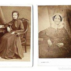 Fotografía antigua: ANTIGUAS FOTOGRAFIAS DE DIFERENTE EPOCA DE A. DUPUY DE PARIS . Lote 107125411