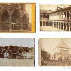 Fotografía antigua: ANTIGUAS FOTOGRAFIAS DE PAISAJES Y MONUMENTOS. Lote 107586275