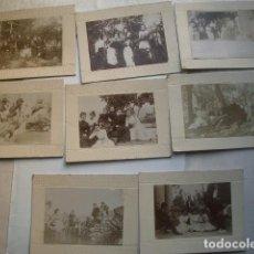 Alte Fotografie - Lote de fotos albúmina montadas en cartón duro, finales del XIX posiblemente zona de Alicante. - 107711431
