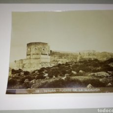 Fotografía antigua: TETUAN.FUERTE DE LA ALCAZABA.. Lote 107957286