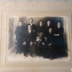 Fotografía antigua: FOTO ANTIGUA FAMILIAR.. Lote 108241452