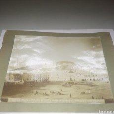 Fotografía antigua: TETUAN PLAZA DE ESPAÑA.. Lote 108249320