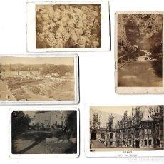 Fotografía antigua: ANTIGUAS FOTOGRAFIAS VARIADAS DE PAISAJES PERSONAJES Y MONUMENTOS. Lote 108830339