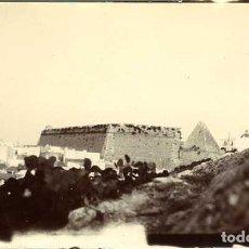 Fotografía antigua: IBIZA (BALEARES). ANTIGUA MURALLA. DECADA DE 1890. TAMAÑO 6,6X11,2 CM.. Lote 109150451