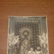 Fotografía antigua: FOTO BASILICA DE NTRA. SRA. DEL PILAR SANTA CAPILLA ZARAGOZA. FOT AFA. Lote 111094059