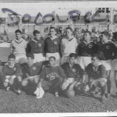 Fotografía antigua: NASTIC DE TARRAGONA - FOTO 12 OCTUBRE 1958 - NASTIC-3 - MANRESA-0 - 3ª DIVISION NACIONAL DE LIGA. Lote 111721791