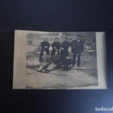 Fotografía antigua: FOTOGRAFIA - TARGETA POSTAL FAMILIAR.. Lote 111894959