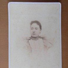 Fotografía antigua: FOTO DE ESTUDIO DE UNA JOVEN JAIME FERRER MASSANET. PALAFRUGELL (GIRONA) (1900). Lote 112209831
