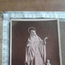 Fotografía antigua: FOTOGRAFIA DE LA AMARGURA DOLOROSA HERMANDAD NUESTRO PADRE JESUS NAZARENO. MURCIA. FOTO ALMAGRO. Lote 112292975
