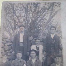 Fotografía antigua: ENANOS.RARA FOTO GRUPAL CON DOS PERSONAS ENANAS EN LA MISMA.. Lote 112570447