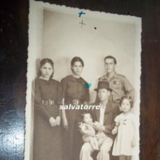 Fotografía antigua: FOTOGRAFIA. ADALBERTO BENITEZ. TENERIFE.,CANARIAS.GRUPO FAMILIAR.. Lote 112744235