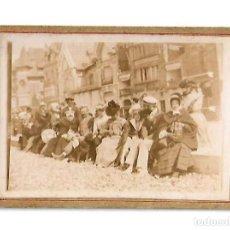Fotografía antigua: ANTIGUA FOYTOGRAFIA FAMILIAR O VECINAL. Lote 113278627