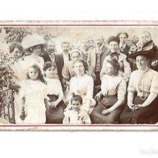 Fotografía antigua: ANTIGUA FOTOGRAFIA FAMILIAR O VECINAL. Lote 113279139