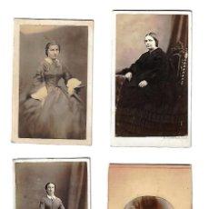 Fotografía antigua: ANTIGUAS FOTOGRAFIAS LOTE DE 4 FOTOS DE DIFERENTES FOTOGRAFOS. Lote 113279235