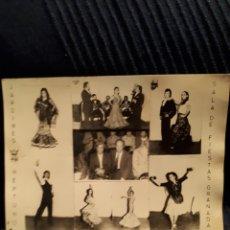 Fotografía antigua: ORIGINAL FOTO PUBLICITARIA SALA DE FIESTAS NEPTUNO DE GRANADA. Lote 114331260