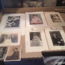 Fotografía antigua: ANTIGUAS 8 FOTOS / FOTOGRAFIAS EN BLANCO Y NEGRO DE LOS AÑOS 40-50. Lote 114401023