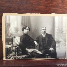 Alte Fotografie - Matrimonio burgués acomodado, desconocidos, c.1910 - 114447384