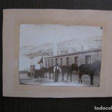 Fotografía antigua: FOTOGRAFIA ALBUMINA - CATALUNYA ? - VER FOTOS - (V-13.884). Lote 115734399