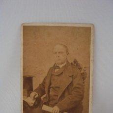 Fotografía antigua: FOTO LUDOVISI Y SU SEÑORA, PRINCIPIOS DE SIGLO, PROCURADOR DE LOS MARQUESES DE ALMUNIA. Lote 116905487