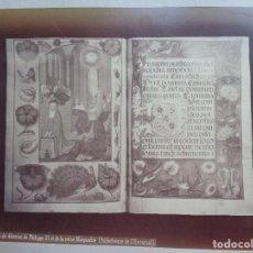 Fotografía antigua: J.LAURENT Y CIA. 643.LIBRO DE DEVOCION DE FELIPE III Y LA REINA MARGARITA.EL ESCORIAL.F.-60. Lote 116966903