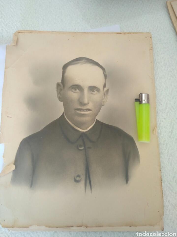 Fotografía antigua: IMPRESIONANTE FOTO ANTIGUA AÑOS 1912 SACERDOTE.FOTO SEVILLA.VER FOTO - Foto 2 - 117010430