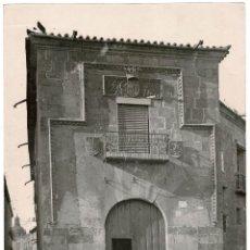 Fotografía antigua: SALAMANCA 1899 CASA DE MARIA LA BRAVA. J. LAURENT 34,5 X 25 CM. Lote 117023895