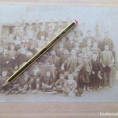 Fotografía antigua: FOTOGRAFÍA COLEGIO SAN DIONISIO. CUDILLERO.ASTURIAS. FOTÓGRAFO E. GÓMEZ. LUARCA. Lote 117615355