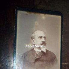 Fotografía antigua: FOTOGRAFIA ANTIGUA. CIRCA 1870. NO CONSTA FOTOGRAFO. Lote 118033879