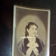 Fotografía antigua: FOTOGRAFIA ANTIGUA. NO CONSTA FOTOGRAFO. CIRCA 1870. Lote 118034247