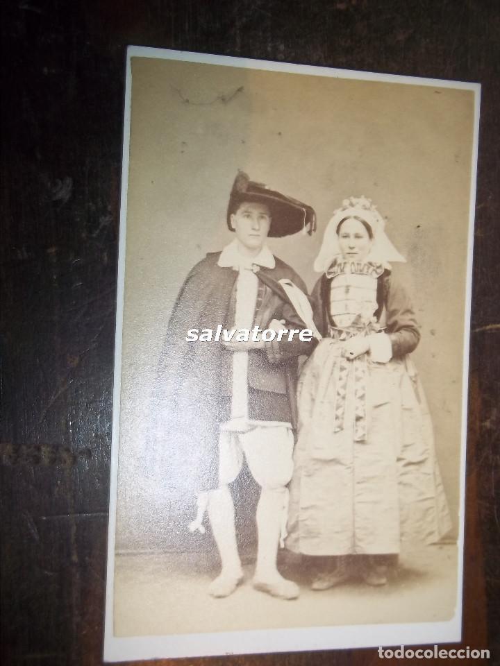CARTE DE VISITEJ TRESORIER NANTES FRANCIA DIFICIL 1868 Fotografia