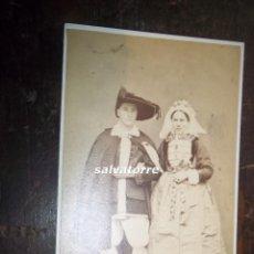 Fotografía antigua: CARTE DE VISITE.J. TRESORIER. NANTES. FRANCIA. DIFICIL 1868. Lote 118074963